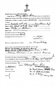 H.S. Lewis application